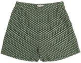Nice Things Printed Viscose Crepe Shorts