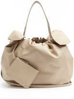 Simone Rocha Double-knot leather shoulder bag