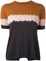Etoile Isabel Marant gradient-effect T-shirt - women - Cotton/Cashmere - 36