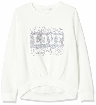 Name It Girl's Nkfruby Ls Sweat Bru Box Sweatshirt