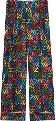 Gucci GG Psychedelic print pajama trousers