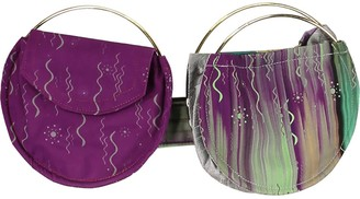 Zero Waste Double Belt Bag Purple