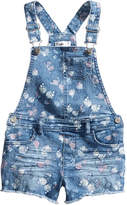 Epic Threads Butterfly-Print Shortall, Little Girls, Created for Macy's