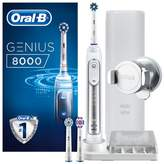 oral b Oral-B GENIUS 8000 Silver Electric Toothbrush Powered by Braun