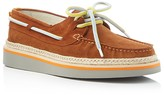 MSGM Lace Up Espadrille Boat Shoes