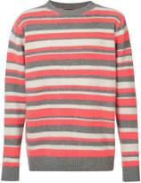 The Elder Statesman cashmere striped jumper