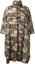 Woolrich camouflage coat - women - Polyamide - One Size