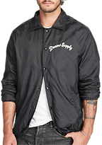 Denim & Supply Ralph Lauren Slim Jersey Lined Windbreaker, Polo Black