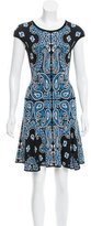 Torn By Ronny Kobo Printed Knit Dress w/ Tags