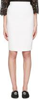 Alexander McQueen Ivory Pencil Skirt