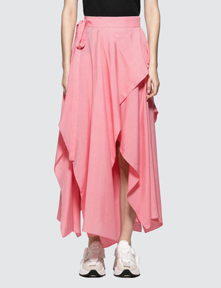 J.W.Anderson Handkerchief Skirt
