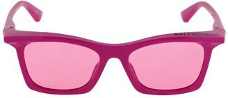 Balenciaga 0099s Rectangle Rim Sunglasses