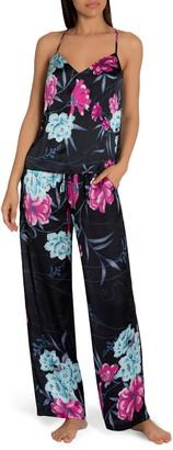 Midnight Bakery Olivia Charmeuse Camisole Pajamas