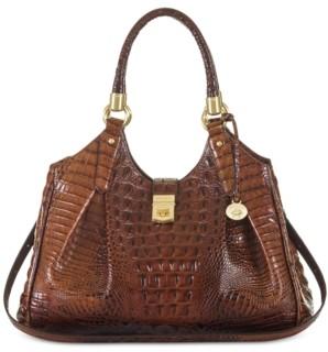 Brahmin Elisa Melbourne Embossed Leather Hobo