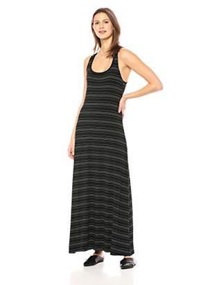 Daily Ritual Women's Jersey Sleeveless Racerback Maxi Dress,M