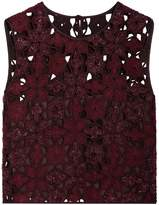 Alberta Ferretti Cutout Sleeveless Top