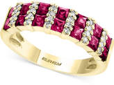 Effy Amoré by Certified Ruby (1-3/4 ct. t.w.) and Diamond (1/8 ct. t.w.) Ring in 14k Gold