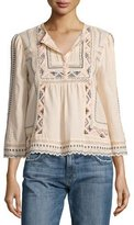 Rebecca Taylor Esme Embroidered Peasant Top, Ballet Combo