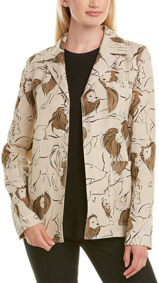 Lafayette 148 New York Jolisa Linen Jacket