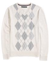 Tommy Hilfiger Argyle V-Neck Sweater