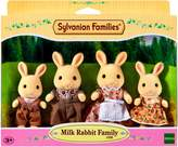 Sylvanian Families Milk Rabbit Family Set