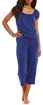 Lauren Ralph Lauren Jersey Capri Pajamas