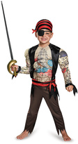 Disguise Black & Red Pirate Dress-Up Set - Kids