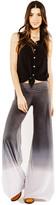 Saint Grace Classic Carol Pants In Black Ombre Wash