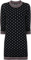 Twin-Set polka dot sweater dress