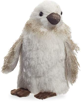story. Glucksteinhome Storybook Small Glitter Penguin Christmas Decor