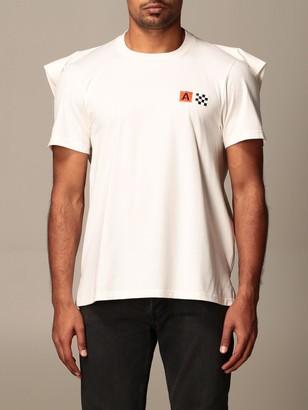 Ambush Cotton T-shirt With Logo And Cape