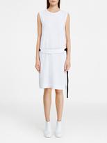 DKNY Sleeveless Dress With Bonded Hem
