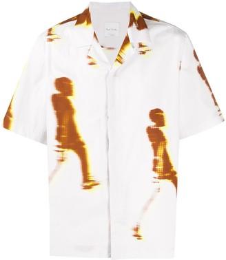 Paul Smith Walker print short-sleeve shirt