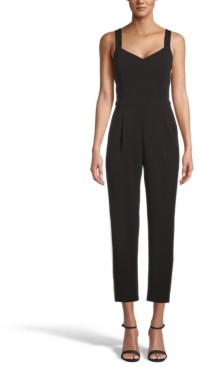 Bar III Sweetheart-Neck Jumpsuit, Created for Macy's