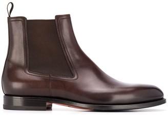 Santoni Elasticated Side Panel Boots