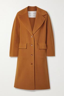 Proenza Schouler White Label Wool-blend Felt Coat - Orange