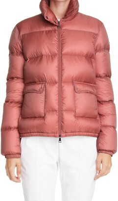 Moncler Lannic Water Resistant Lightweight Down Puffer Jacket