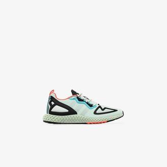 adidas green ZX 2K 4D sneakers
