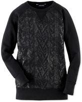 Ralph Lauren Sweatshirt, Girls Foil Printed Sweatshirt