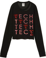 PINK Texas Tech University Long Sleeve Campus Cutout Tee