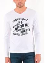 Kaporal 5 V-Neck Long Sleeved T-Shirt