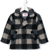 Il Gufo checked pattern coat