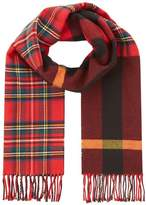 Burberry Patchwork Check Scarf