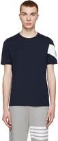 Moncler Gamme Bleu Navy Chevron T-Shirt
