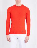 Armani Collezioni Crewneck knitted jumper
