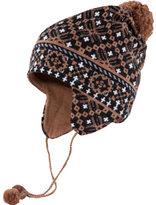 Ibex Women's Fairisle Earflap With Ties
