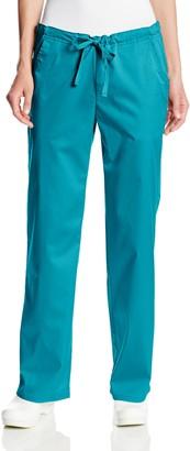 Cherokee Women's Petite Scrubs Luxe Low Rise Drawstring Pant