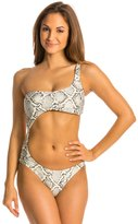 Vix Paula Hermanny Serpent Off White Victoria Cut Out One Piece Swimsuit 8132791