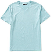 Murano Liquid Luxury Short Sleeve Slim-Fit V-Neck