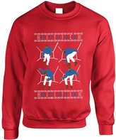 Allntrends Adult Sweatshirt 4 1-800 Hotline Bling Ugly Christmas Sweater Gift (S, )